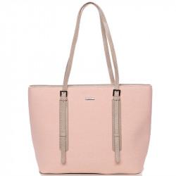 Dámská kabelka David Jones cm3353 - růžová