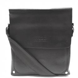 Elegantní pánská crossbody taška 58-1 - černá