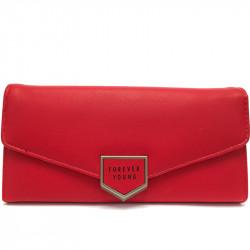 Dámská peněženka z eko kůže 1245 - červená
