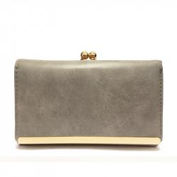 Dámská peněženka z eko kůže 102-29 - šedá