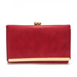 Dámská peněženka z eko kůže 102-29 - červená