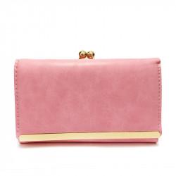 Dámská peněženka z eko kůže 102-29 - růžová