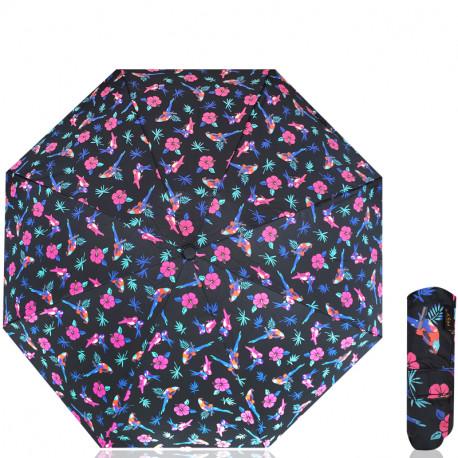 Manuální deštník REALSTAR 5018 - černý, Barva Černá RealStar