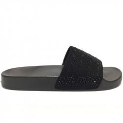 Dámské pantofle s korálky