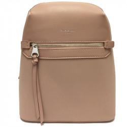 Elegantní městský dámský batoh David Jones 5682a-3 - růžový