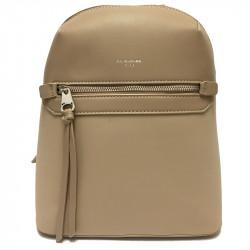 Elegantní městský dámský batoh David Jones 5682a-3 - béžový