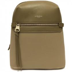 Elegantní městský dámský batoh David Jones 5682a-3 - khaki