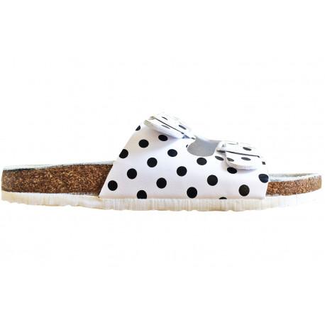 Dámské korkové pantofle Samlux - Bílá 0fcbe78d21