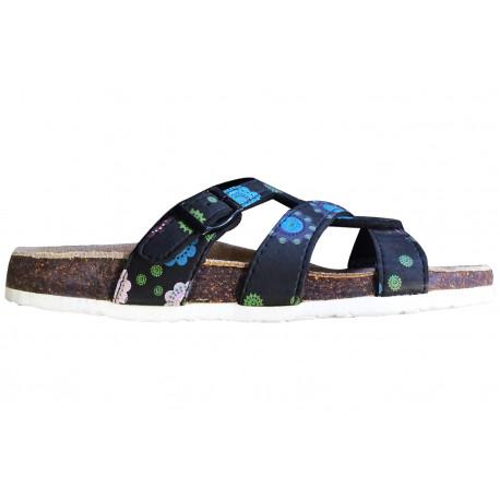 Dámské korkové pantofle Samlux 898 - Černá 5e07f1d8a4