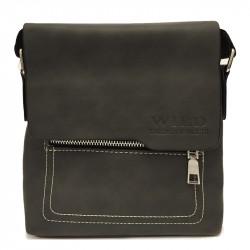 Malá pánská crossbody taška 2001-3 - černá