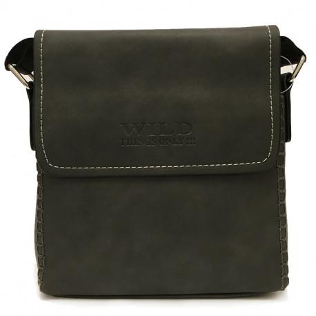 a2d3e9af284 Malá pánská crossbody taška 2003-3 - černá