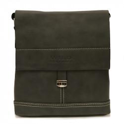 Malá pánská crossbody taška 2003-3 - černá