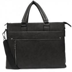 Pánská crossbody taška 2202-2 - černá
