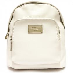 Elegantní městský dámský batoh David Jones cm3740 - bílý
