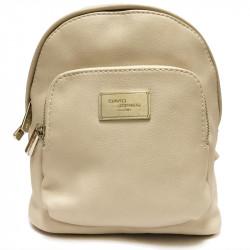 Elegantní městský dámský batoh David Jones cm3740 - krémový
