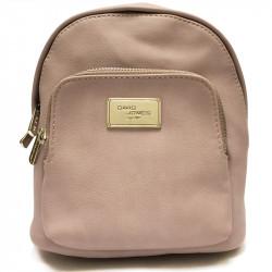 Elegantní městský dámský batoh David Jones cm3740 - růžový