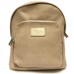 Elegantní městský dámský batoh David Jones cm3740 - béžový