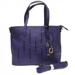 Dámská kabelka s ramenním popruhem David Jones cm2546 - modrá