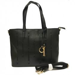 Dámská kabelka s ramenním popruhem David Jones cm2546 - černá
