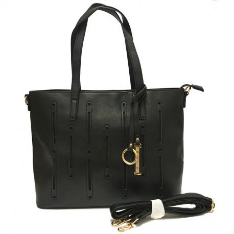 Dámská kabelka s ramenním popruhem David Jones cm2546 - černá 5bc5dd6de29