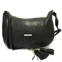 Dámská crossbody kabelka David Jones 3873-2 - černá