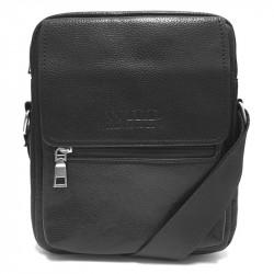 Malá pánská crossbody taška 2002-3 - černá