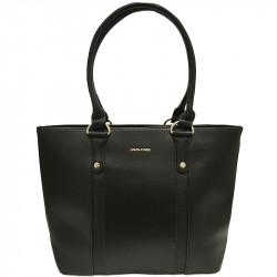 Prostorná dámská kabelka David Jones 5625-2 - černá