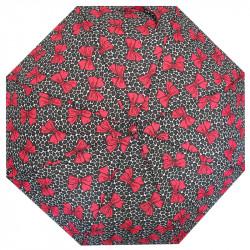 Automatický deštník REALSTAR - černo-růžová