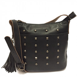 Dámská crossbody kabelka David Jones 3831-1  - černá