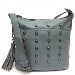 Dámská crossbody kabelka David Jones 3831-1 - modrá