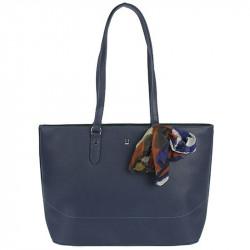 Dámská kabelka David Jones cm4086 z nové kolekce - tmavě modrá