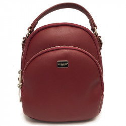Elegantní městský dámský batoh David Jones 5814-2a - vínový