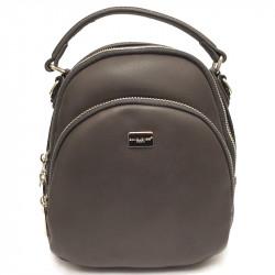 Elegantní městský dámský batoh David Jones 5814-2a - šedý