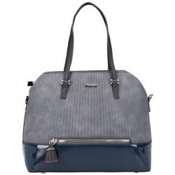 Dámská kabelka David Jones 5831-1 z nové kolekce - modrá