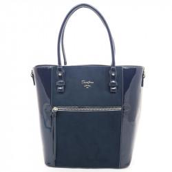 Dámská kabelka David Jones 5856-2 z nové kolekce - tmavě modrá