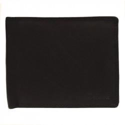 Pánská kožená peněženka Delami s dárkovou krabičkou 3121 - černá