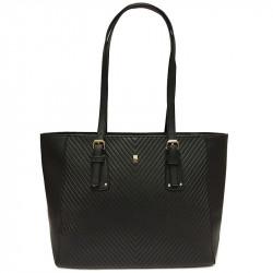Dámská kabelka David Jones CM3997 z nové kolekce - černá