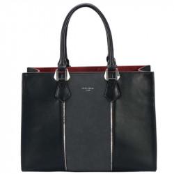 Dámská kabelka David Jones cm4089 z nové kolekce - černá