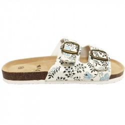 Dámské korkové pantofle Samlux z nové kolekce 9023 - modrá